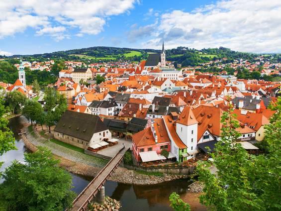 Immobilienkauf Tschechien, Cesky Krumlov, Foto: iStock.com / zhuyufang