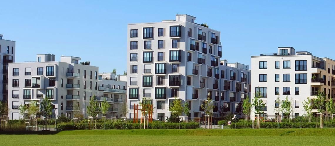 Immobilienbewertung, Mehrfamilienhäuser, Foto: Anselm Baumgart/stock.adobe.com