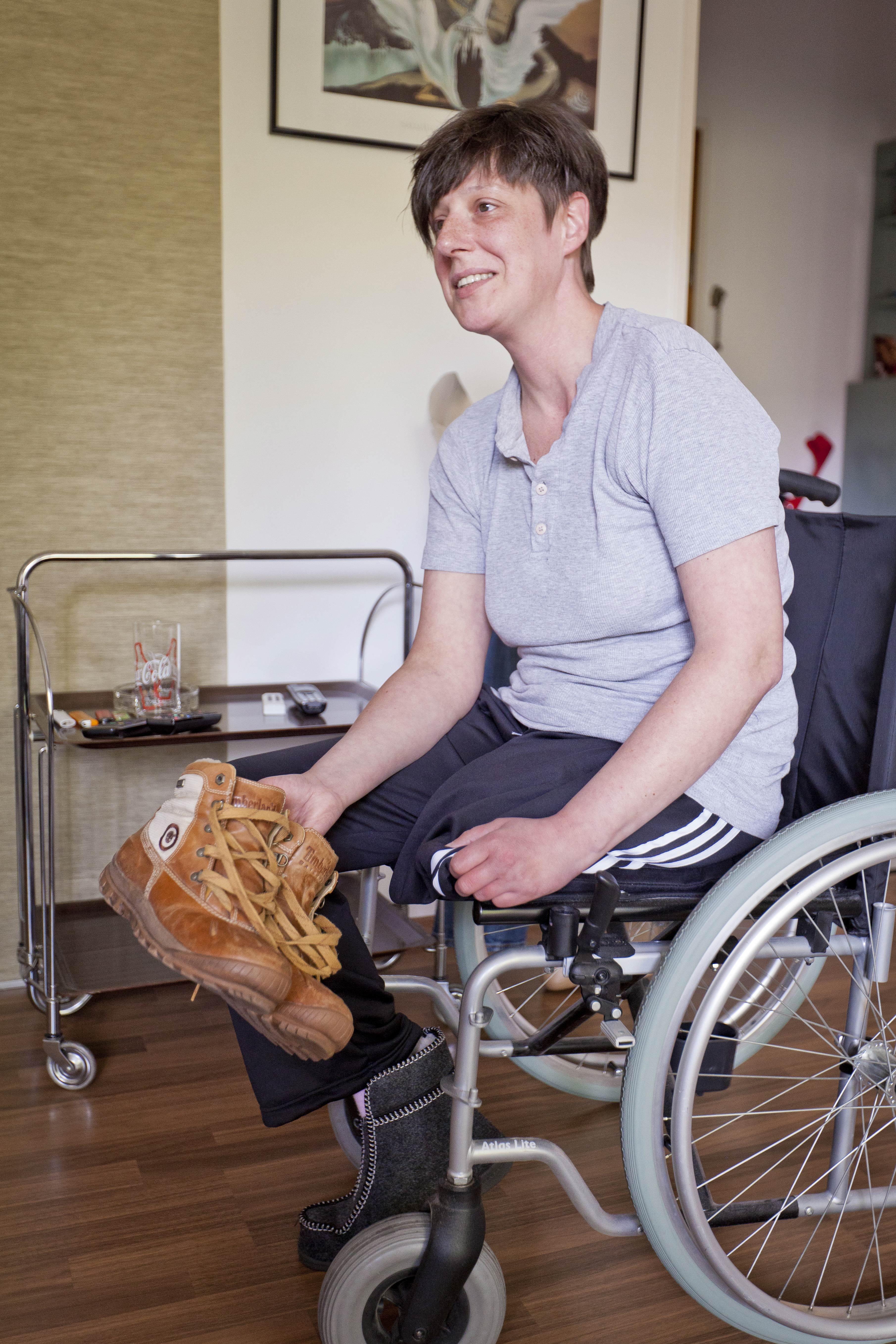 Rollstuhlfahrerin sie sucht ihn