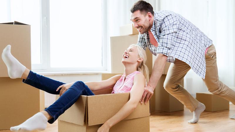 umzug stressfrei ins neue zuhause umziehen. Black Bedroom Furniture Sets. Home Design Ideas