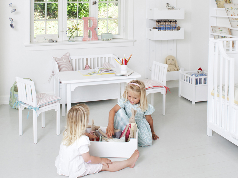 kinderzimmer ideen f r zwei babys. Black Bedroom Furniture Sets. Home Design Ideas