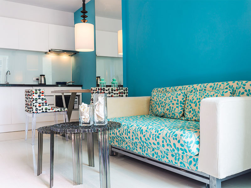 kleine wohnung einrichten so kommt die einzimmerwohnung. Black Bedroom Furniture Sets. Home Design Ideas