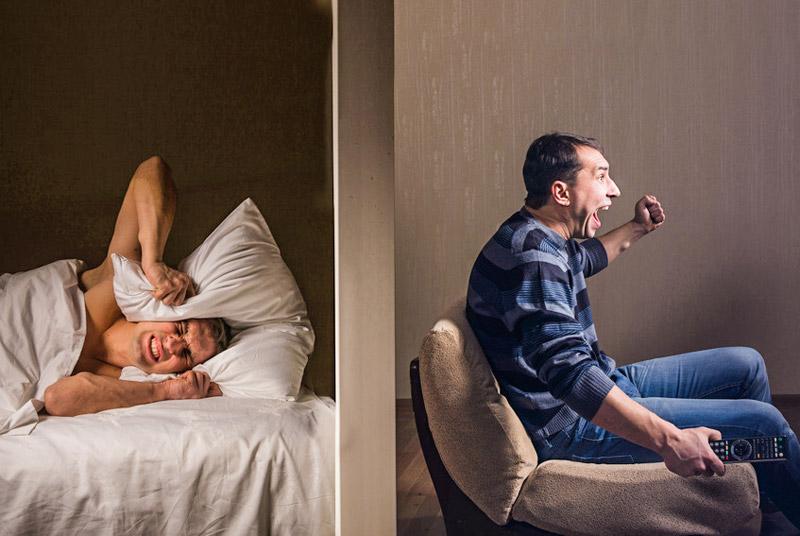 l rm dann ist eine mietminderung gerechtfertigt. Black Bedroom Furniture Sets. Home Design Ideas
